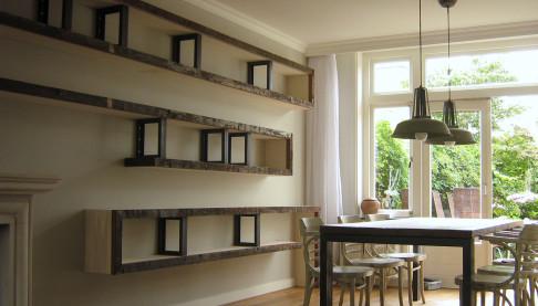boekenkast, Signed Interieur Architectuur