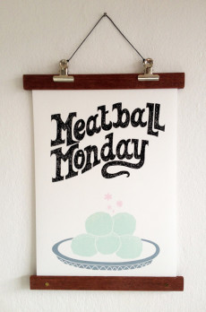Meatball Monday, Vers Werk