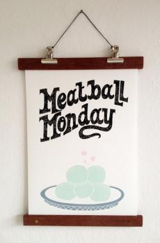 Meatball Monday, Vers Werk