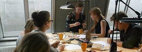workshop Atelier Karin Wichers Zilveren ring maken
