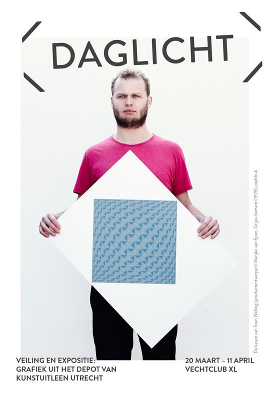 Flyer Expositie Daglicht Vechtclub XL - Fotografie door Patrick Stoop