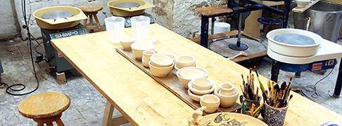 Atelier Werfklei Ambachtelijk pottenbakken Utrecht