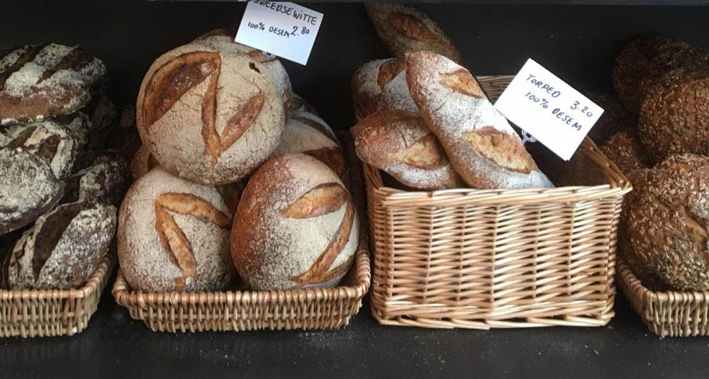 Skorpan Fika Bröd - Spelt en Desem brood Utrecht