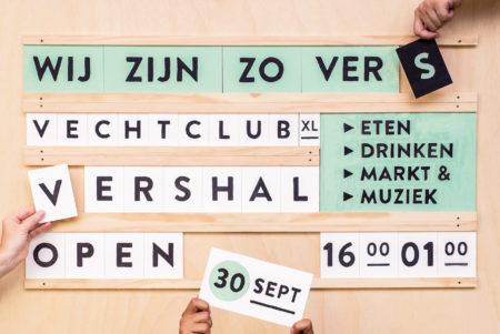 Opening Vershal Vechtclub XL Utrecht vrijdag 30 september