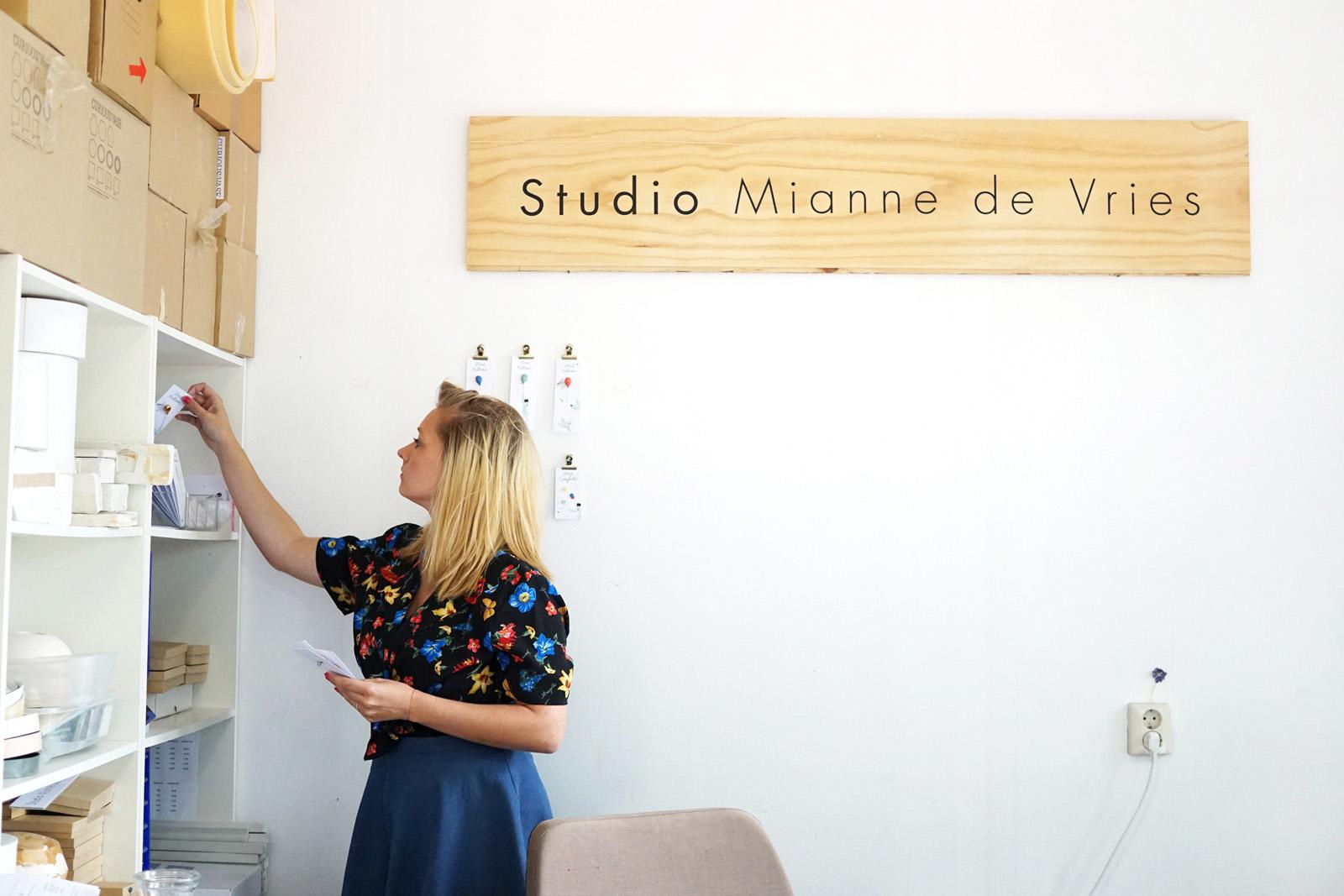 Enter the studio of Mianne de Vries bij Vechtclub XL