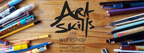 ArtSkills Tekenles in Vechtclub XL