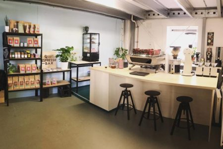 Espressobar Nordkapp Coffee open